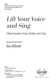 Lift Your Voice and Sing Sheet Music by Mary McDonald
