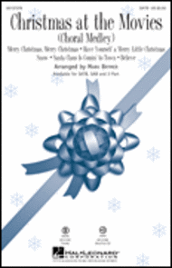 Christmas at the Movies Sheet Music by Mark A. Brymer