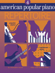 American Popular Piano Repertoire - Level 4 (Book/CD) Sheet Music by Christopher Norton