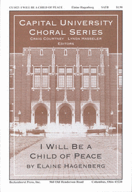 I Will Be a Child of Peace Sheet Music by Elaine Hagenberg