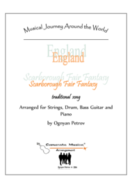 Scarborough Fair Fantasy Sheet Music by Traditional