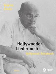 Hollywood Songbook Sheet Music by Hanns Eisler