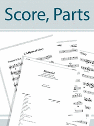 Cradle Hymn - String Score and Parts Sheet Music by Kim Andre Arnesen
