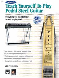 Alfred's Teach Yourself to Play Pedal Steel Guitar Sheet Music by Joe Stoebenau