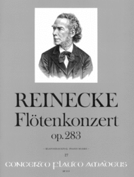 Flute concerto in D op. 283 Sheet Music by Carl Reinecke