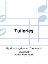Tuileries Sheet Music by Moussorgsky / arr. Caluwaerts