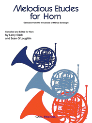 Melodious Etudes For Horn Sheet Music by Giovanni Marco Bordogni