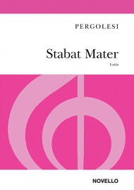 Stabat Mater Sheet Music by Giovanni Battista Pergolesi
