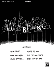 Working - Vocal Selections Sheet Music by Craig Carnelia