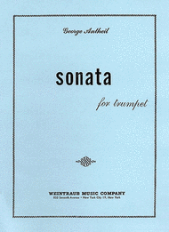 Sonata For Trumpet Sheet Music by George Antheil