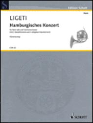Hamburg Concerto Sheet Music by Gyorgy Ligeti