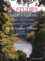 Six Studies in English Folk Song for Solo Cor Anglais and String Quartet or String Orchestra Sheet Music by Ralph Vaughan Williams