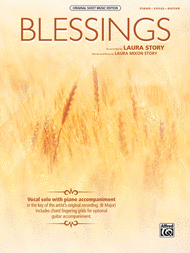 Blessings Sheet Music by Laura Story