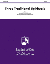 Three Traditional Spirituals Sheet Music by Traditional
