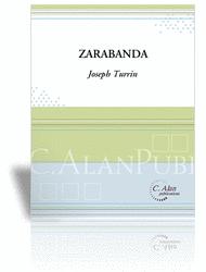 Zarabanda (piano reduction) Sheet Music by Joseph Turrin