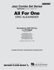 All for One Sheet Music by Eric Alexander