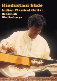 Hindustani Slide Indian Classical Guitar Sheet Music by Debashish Bhattacharya