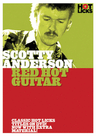 Scotty Anderson - Red Hot Guitar Sheet Music by Scotty Anderson