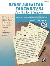 Great American Songwriters for Solo Singers Sheet Music by Jay Althouse