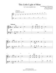 This Little Light of Mine - 3-octave handbell choir Sheet Music by Avis Burgeson Christiansen