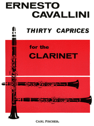 Thirty Caprices Sheet Music by Ernesto Cavallini
