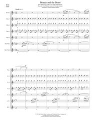 Beauty And The Beast (for Flute Choir) Sheet Music by Alan Menken