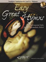 Easy Great Hymns (Bassoon / Trombone / Euphonium) Sheet Music by James Curnow