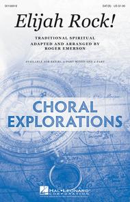 Elijah Rock! Sheet Music by Traditional Spiritual