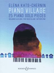 Piano Village Sheet Music by Elena Kats-Chernin
