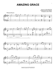 Amazing Grace Sheet Music by Edwin O. Excell