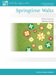 Springtime Waltz Sheet Music by Glenda Austin