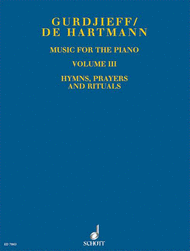 Music for the Piano Vol. 3 Sheet Music by Georges Ivanovich Gurdjieff