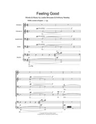 Feeling Good Sheet Music by Nina Simone