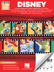 Disney - Super Easy Songbook Sheet Music by Various