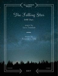 The Falling Star (SAB Choral) Sheet Music by Amanda L. Dills