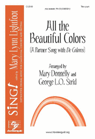 All the Beautiful Colors (Two-part) Sheet Music by George L. O. Strid