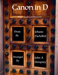 Canon in D (Brass Quartet for Horn in F) Sheet Music by Johann Pachelbel