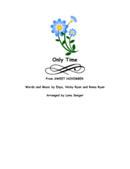 Only Time (string trio) Sheet Music by Enya