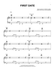 First Date Sheet Music by Mark Hoppus