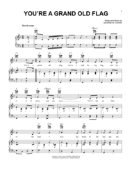 You're A Grand Old Flag Sheet Music by George M. Cohan