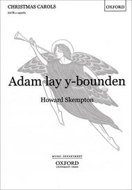 Adam lay y-bounden Sheet Music by Howard Skempton