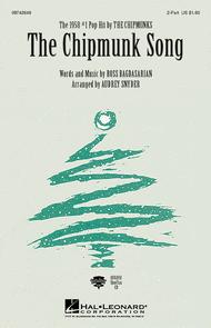 The Chipmunk Song Sheet Music by Ross Bagdasarian Jr.