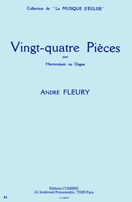 Pieces (24) Sheet Music by Andre Fleury