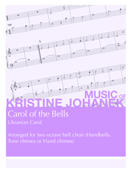 Carol of the Bells (Ukranian Carol) (2 octave handbells