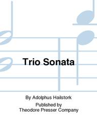 Trio Sonata Sheet Music by Adolphus Hailstork