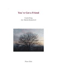 You've Got A Friend _ Piano Solo Sheet Music by Carole King