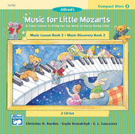 Music for Little Mozarts - Book 2 (CDs) Sheet Music by Christine H. Barden