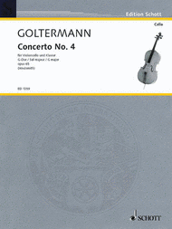 Concerto op. 65 Sheet Music by George Goltermann