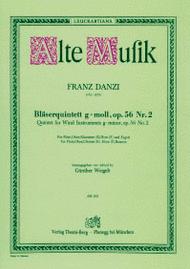 Wind Quintet Sheet Music by Franz Danzi