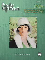 Popular Performer -- 1920s Sheet Music by Jan Sanborn